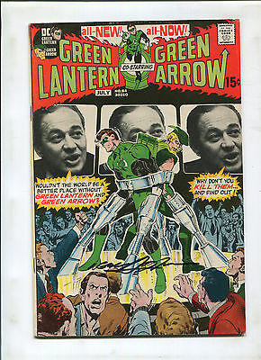 Green Lantern #84 Vf- Signed By Neal Adams! Wrightson Art
