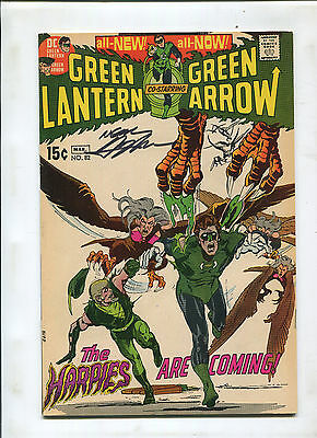 Green Lantern #82 (8.5)  Signed By Neal Adams!