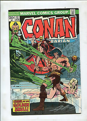 Conan The Barbarian #37 (7.5) Signed By Neal Adams!