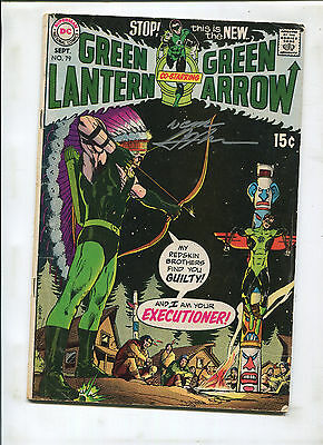 Green Lantern #79 (5.0)  Signed By Neal Adams!