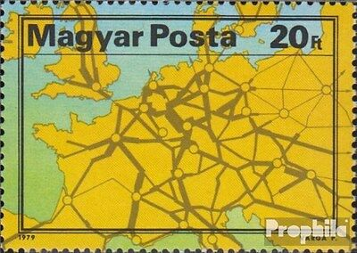 Hungary 3350A (complete.issue.) unmounted mint / never hinged 1979 Transport Exh