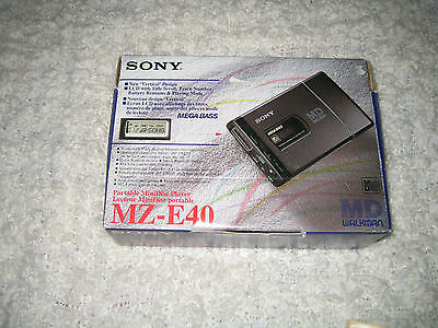 sony mz-e40 BNIB rare mini disc player