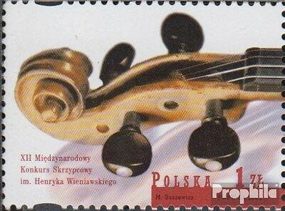 Poland 3927 (complete.issue.) unmounted mint / never hinged 2001 Violin