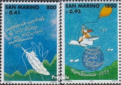San Marino 1810-1811 (complete.issue.) unmounted mint / never hinged 1999 WM in