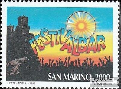 San Marino 1662 (complete.issue.) unmounted mint / never hinged 1996 Festivalbar