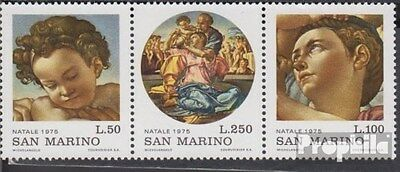 San Marino 1102-1104 triple strip (complete.issue.) unmounted mint / never hinge