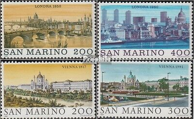 San Marino 1210-1211,1227-1228 (complete.issue.) unmounted mint / never hinged 1
