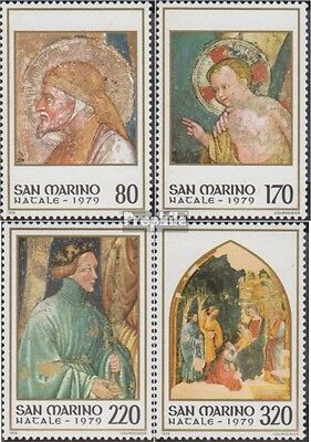 San Marino 1201-1204 (complete.issue.) unmounted mint / never hinged 1979 christ
