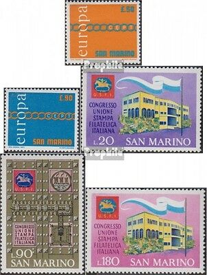 San Marino 975-976,977-979 (complete.issue.) unmounted mint / never hinged 1971