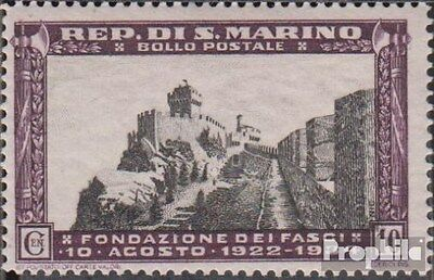 San Marino 209 unmounted mint / never hinged 1935 Wall and Hochstrasse