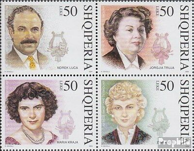 Albania 2991-2994 block of four (complete.issue.) unmounted mint / never hinged