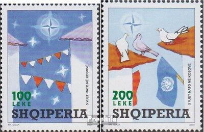 Albania 3028-3029 (complete.issue.) unmounted mint / never hinged 2004 NATO in k