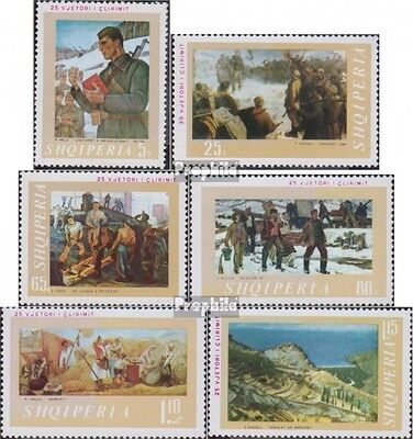 Albania 1339-1344 (complete.issue.) unmounted mint / never hinged 1969 25 years