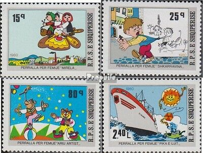Albania 2055-2058 (complete.issue.) unmounted mint / never hinged 1980 Fairytale