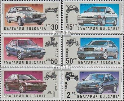 Bulgaria 3968-3973 (complete.issue.) unmounted mint / never hinged 1992 Automoti