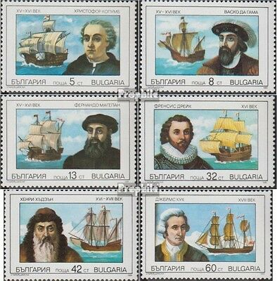 Bulgaria 3814-3819 (complete.issue.) unmounted mint / never hinged 1990 Famous S