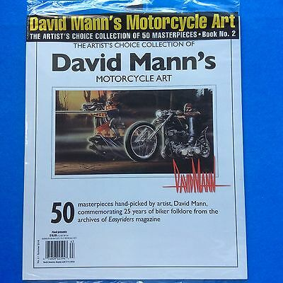 David Mann's Motorcycle Art Book No. 2 OOP from the archives of Easyriders Mag