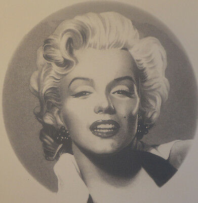 Ceramic Decal      MARILYN MONROE  190mm   Full plate size