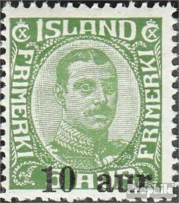 Iceland 110 (complete.issue.) fine used / cancelled 1922 Postage stamp