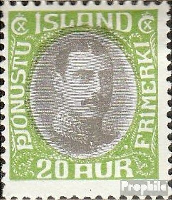 Iceland D62 (complete.issue.) Rastertiefdruck fine used / cancelled 1932 King Ch