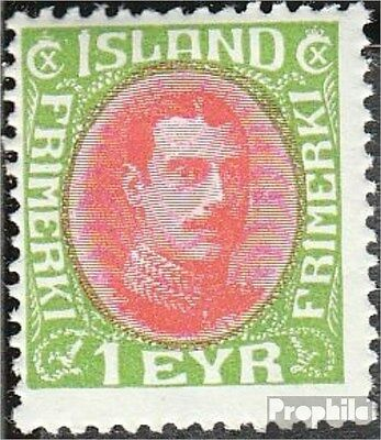 Iceland 156A unmounted mint / never hinged 1931 Christian