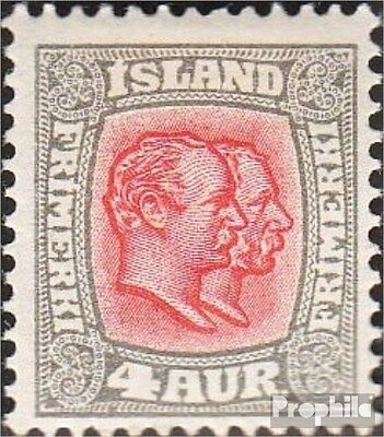 Iceland 50 unmounted mint / never hinged 1907 Christian IX. and Frederik VIII.