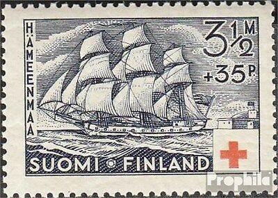 Finland 201 fine used / cancelled 1937 Red Cross