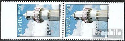 Latvia 685Do/You vertical Couple (complete.issue.) unmounted mint / never hinged