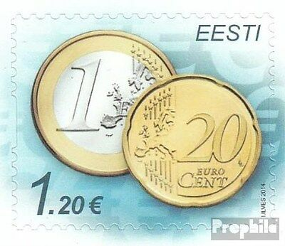 Estonia 807 (complete.issue.) unmounted mint / never hinged 2014 Euro