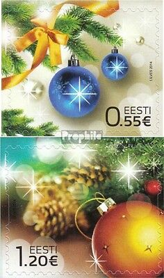 Estonia 812-813 (complete.issue.) unmounted mint / never hinged 2014 christmas