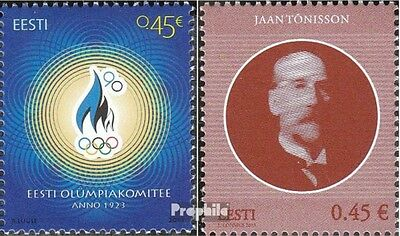 Estonia 780,781 (complete.issue.) unmounted mint / never hinged 2013 Olympia, Tö