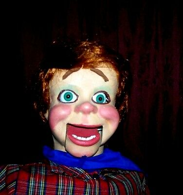pro style ventriloquist  dummy puppet doll
