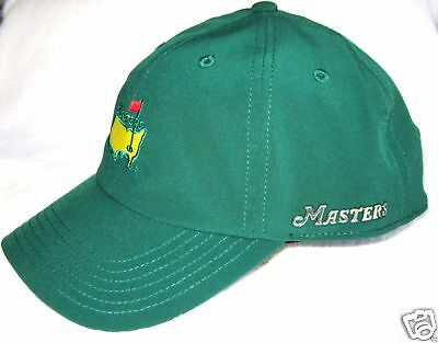 2016 Augusta Masters, OFFICIAL, Green PERFORMANCE Golf Hat