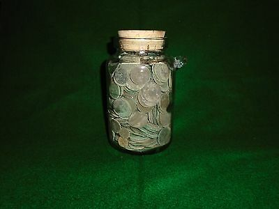 Large Hoard Bronze And Copper Coins . Treasure Joblot Coin Collection Artefact