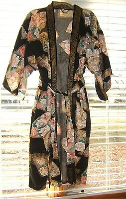 Japanese 100% Cotton Tie Robe One Size Fits All