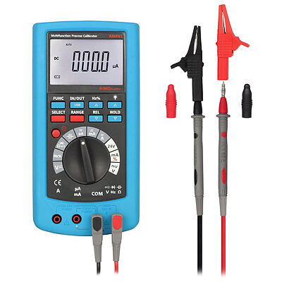 AIMO AMPX1 2in1 LCD Digital Multimeter High Accuracy Process Calibrator DMM