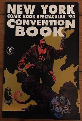 New York Comic Spectacular '94 Convention Book Early Hellboy Mike Mignola VF/NM