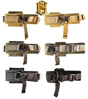 HSGI MOLLE or BELT Mount Weapons Catch-Coyote Brown-Olive Drab-Black