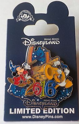 Hong Kong Disney Music  2016 Mickey and Donald LE 500 Pin