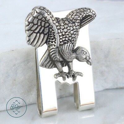 Sterling Silver - Turkey Vulture 36.4g - Money Clip Mens IC5243
