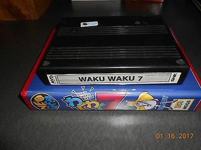 Waku Waku 7 (Neo Geo MVS, 1996) Cart and Shock Box