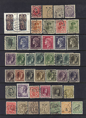 Luxembourg 1880 Valauable Vintage Colletcions Lot - used