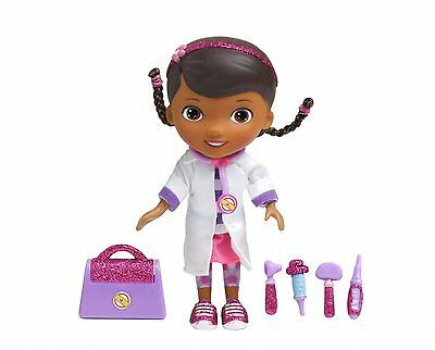 """Just Play 5 1/2"""" Doc McStuffins Time for a Check-Up Doll Set - NEW!"""