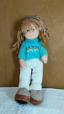 Cool Cassidy 8in TY Teenie Beanie Bopper 2002 flexible cloth girl doll 3up