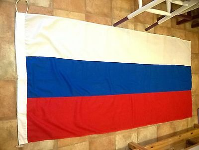 Russian Flag 6 x 3 ft  vintage rare Great Condition