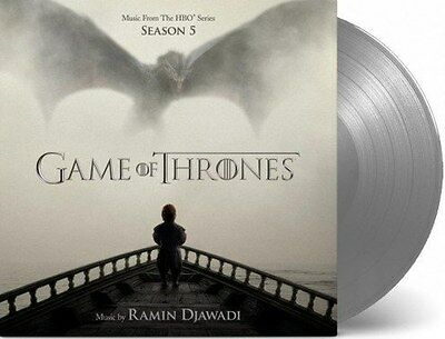Game Of Thrones Season 5 Limited Numbered Silver Vinyl New & Sealed Sold Out