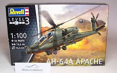 Revell 1/100: 04985 Helicopter AH-64A Apache