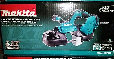 New in box Makita XBP01Z 18V LXT Lithium-Ion Cordless Compact Band Saw(BareTool)