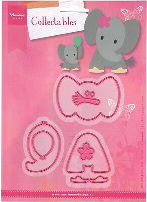 Marianne Design Collectables -  Elines Elephant - Col1384