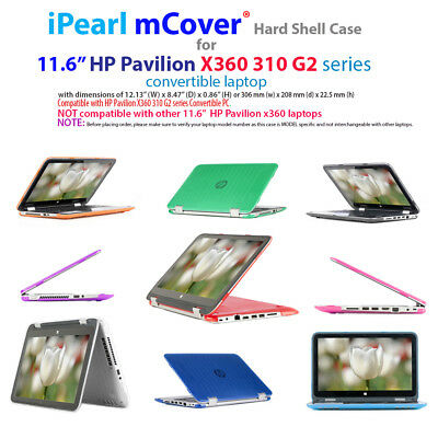 """NEW CLEAR mCover® HARD CASE for 11.6"""" HP Pavilion X360 310 G2 series Laptop"""